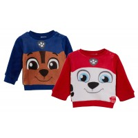Paw Patrol Baby Boys Novelty Fleece Jumper Chase Marshal Long Sleeve Top Gift
