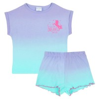Unicorn Short Pyjamas - Ombre