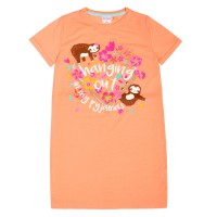 Girls Slogan Nightdress