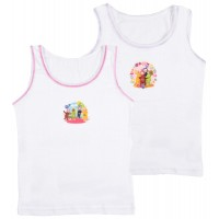 Teletubbies Girls Vests - 2 Pack