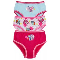 Girls Pack Of 3 My Little Pony Briefs