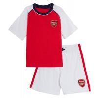Kids Arsenal FC Short Pyjamas Boys Premiership Football Club Shortie PJs Size
