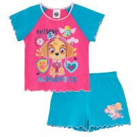 Paw Patrol Girls Short Pyjamas - Skye