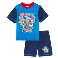 Paw Patrol Short Pyjamas - Top Pups