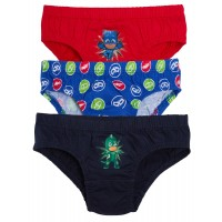 Boys Pack Of 3 PJ Masks Briefs