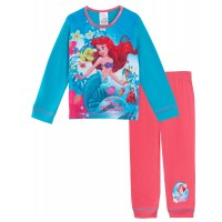 The Little Mermaid Long Pyjamas Pink Set - Ariel