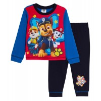 Boys Paw Patrol Pyjamas Kids chase Marshall Full Length Pjs Set Nightwear Size