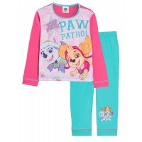 Girls Paw Patrol Pyjamas Kids Skye Everest Full Length Long Pjs Set Nightwear