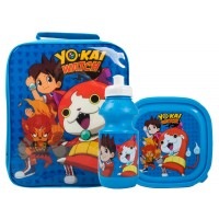 Yo-Kai Watch Boys Lunch Bag + Sandwich Box + Bottle Set