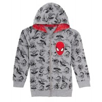 Marvel Spiderman Boys Hooded Jacket