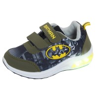Boys Batman Light Up Sports Trainers