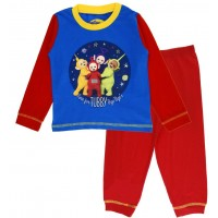 Boys Teletubbies Long Pyjamas - Tubby Bye Bye