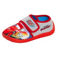 Boys Disney Cars Easy Fasten Slippers Kids Lighting McQueen Nursery House Shoes