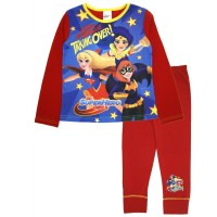 DC Super Hero Girls Long Pyjamas - Taking Over