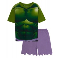 The Hulk Short Dress Up Pyjamas