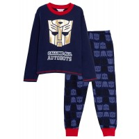 Boys Transformers Luxury Pyjamas Kids Optimus Prime Full Length Pj Set Nightwear