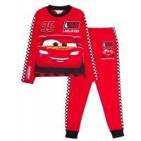 Disney Cars Luxury Pyjamas Kids Lightning McQueen Full Length Pjs Set Nightwear