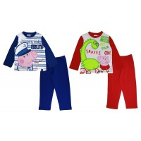 Peppa Pig Boys George Long Pyjamas