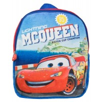 Disney Cars Boys Plush Backpack  Piston Cup