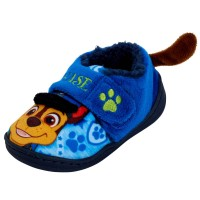 Boys Paw Patrol 3D Fleece Lined Slippers Kids Chase Nursery House Shoes Size