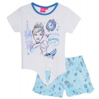 Girls Disney Princess Short Pyjamas - Cinderella