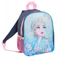 Disney Frozen 2 Girls Denim Style Backpack Kids Elsa School Nursery Rucksack Bag