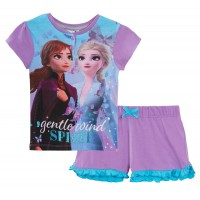 Girls Disney Frozen 2 Luxury Short Pyjamas
