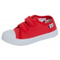 Kids Canvas Pumps Boys Girls Easy Fasten Trainers Unisex Pilmsolls Casual Shoes