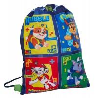 Boys Paw Patrol Drawstring Bag