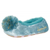 Girls Disney Jasmine Slippers Kids Aladdin Fleece Lined Dress Up Ballet Slippers