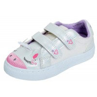 Girls 3D Unicorn Glitter Trainers Kids Easy Fasten Sparkle Casual Trainers Shoes