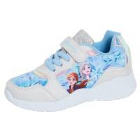 Girls Disney Frozen 2 Sports Trainers Kids Elsa Anna Touch Fasten Casual Shoes