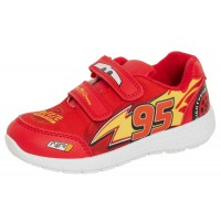 Disney Cars Sports Trainers Kids Lightning McQueen Easy Fasten Skate Shoes Pumps