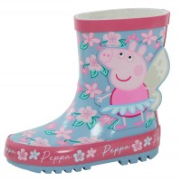 Peppa Pig 3D Wellington Boots Glitter Fairy