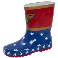 DC Comics Wonder Woman 3D Rubber Wellington Boots
