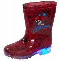 Marvel Spiderman Light Up Wellington Boots