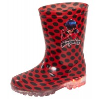 Miraculous Ladybug Light Up Wellington Boots