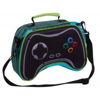 Epic Gamer 3D Lunch Bag Gaming Controller Lunch Box For Kids School Cooler Bag