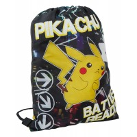 Pokemon Pikachu Gym Bag - Glow In The Dark