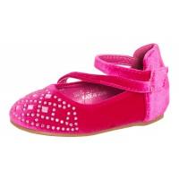 Girls Mary Jane Velvet Party Shoes