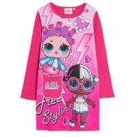 Girls LOL Surprise Dolls Nightdress Kids Character Nighty Nightie Nightwear Size