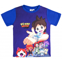 Boys Yo Kai Watch Short Sleeved T-Shirt - Watch