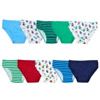 Boys Briefs - 10 Pack