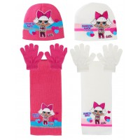 LOL Surprise Dolls Hat, Glove And Scarf Set