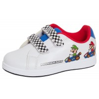 Boys Super Mario Brothers Sports Trainers Kids Mario Kart Casual Skate Shoes