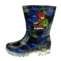 PJ Masks Light Up Wellington Boots