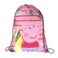 Peppa Pig Drawstring Bag  Iridescent Wings