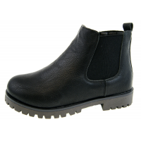 Boys Black Chelsea Ankle Boots