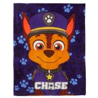 Kids Paw Patrol Coral Fleece Blanket Boys Chase Marshall Cuddle Wrap Bed Throw