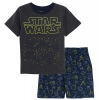 Star Wars Glow In The Dark Short Pyjamas